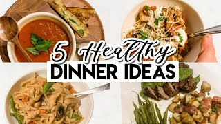 FEW INGREDIENT HEALTHY DINNER IDEAS! ((EASY & AFFORDABLE MEALS 5 INGREDIENTS OR LESS!))