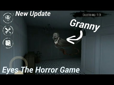 Granny in Eyes The Horror Game😂(New Update)
