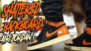 "AIR JORDAN 1 ""SHATTERED BACKBOARD 3.0"" REVIEW AND ON FOOT IN 4K !"