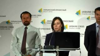 Alumni Association. Ukraine crisis media center, 20th of June 2014