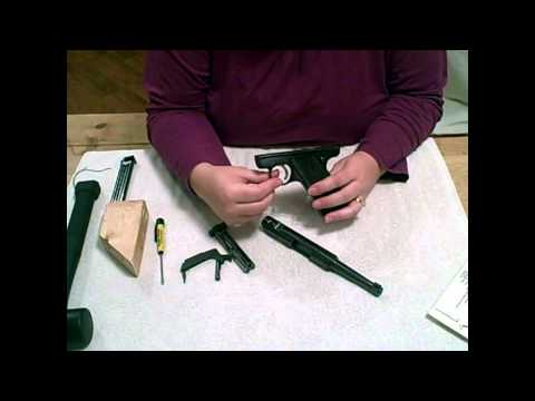 Ruger Mark I & Mark II .22 Field Strip - disassemble/reassemble