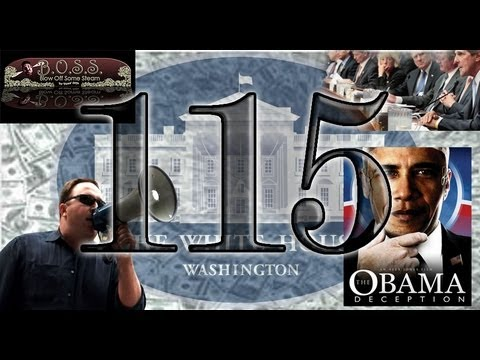 Blowing Off Some Steam 115 (Obama Deception, Alex Jones, Super Committee)