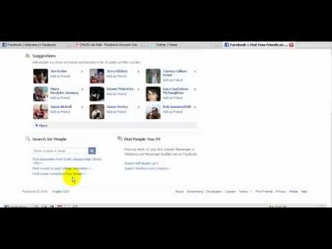 how to add hotmail contacts to facebook