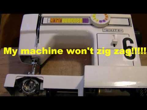 My Sewing Machine Won't Zig Zag - Timing Repair