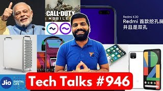 Tech Talks #946 - Redmi K30 Leaks, PM Modi Instagram, Jio Video Call AI, COD Mobile, iPhone SE2