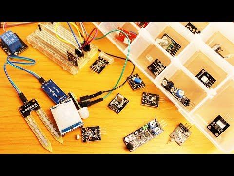 Использование датчиков для Arduino без Arduino
