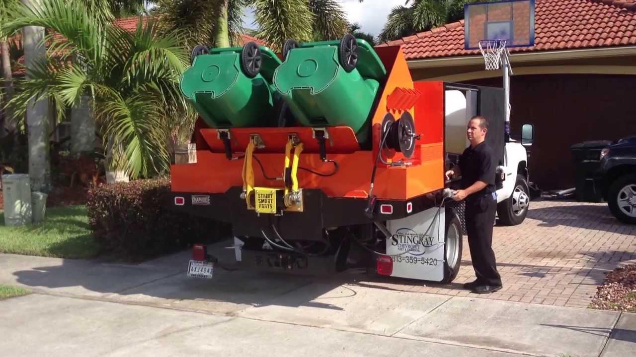 wheelie bin cleaning business trash bin cleaner  bin