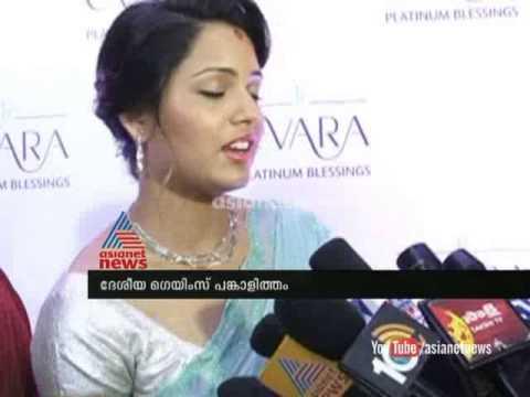 Deepika Pallikkal with Dinesh Karthik:remarks on National Games