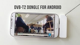 Easy as 1-2-3 DVB-T2 Digital TV on Android smartphones & tablets