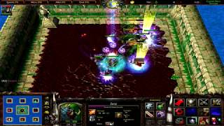 Warcraft 3 | Custom Hero Survival v2.6c | Awesome Game | Crazy Bets