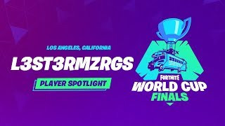 Fortnite World Cup Finals - Player Profile - L3st3rmzrgs
