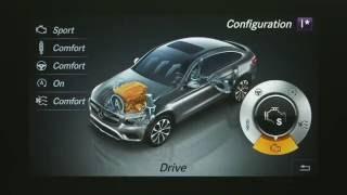 Mercedes-Benz GLC 250 d 4MATIC Coupe - Interior Design in Selenite Grey Trailer   AutoMotoTV