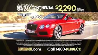 FC Kerbecks Rolls Royce Bentley Lease Specials!