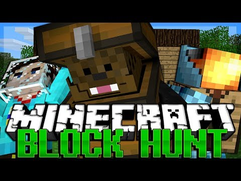 HIDDEN MASTERS Minecraft Block Hunt w/ MinecraftUniverse and WillBarlow