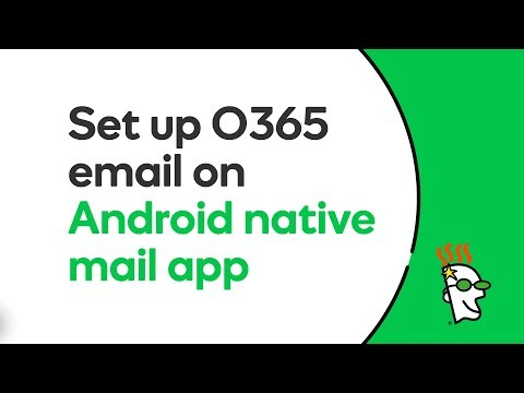 GoDaddy Office 365 Email Setup in Native Mail App (Android) | GoDaddy