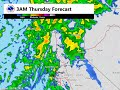 Precipitation Forecast for December 10 - 11th, 2015