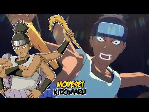 Naruto Shippuden Ultimate Ninja Storm 4 : Kidomaru Complete Moveset