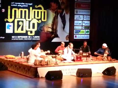 Oru Pushpam Mathramen - By Umbayee At Gazal Mazha video