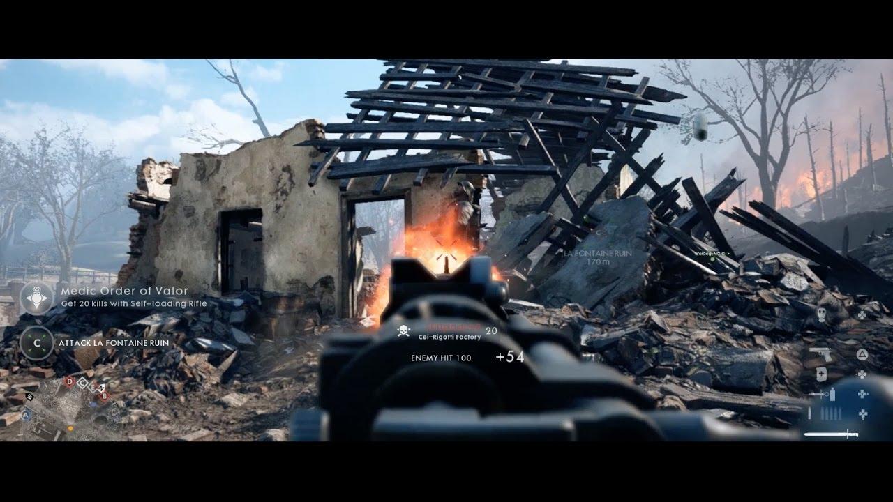 Alan Walker x Battlefield 1: Gameplay