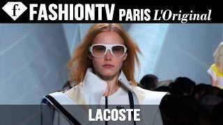 Lacoste: Designers Inspiration | Spring/Summer 2015 New York Fashion Week | FashionTV
