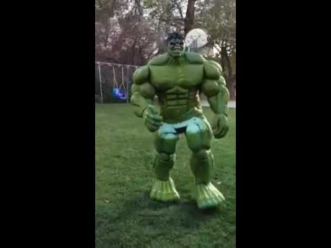 Good Hulk Costume Latex Hulk Costume is Pretty