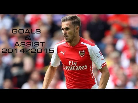 Aaron Ramsey ● All Goals & Assists for Arsenal ● 2014/2015