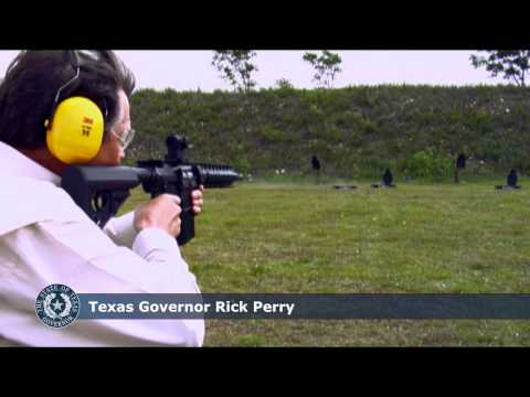 Texas Governor Rick Perry Introduces the Texas International Firearms Festival