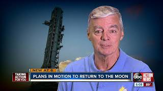 Plans in motion to return to the moon