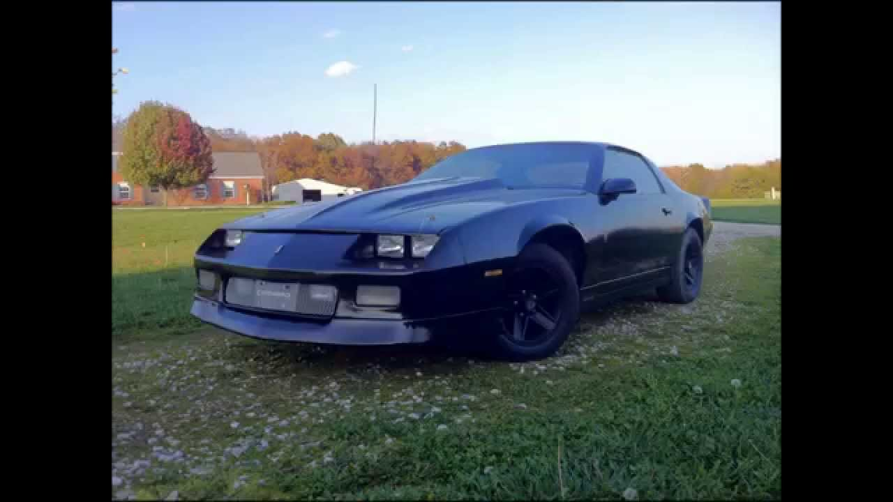 black rustoleum spray paint job 1988 camaro restoration youtube. Black Bedroom Furniture Sets. Home Design Ideas