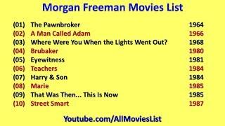 Morgan Freeman Movies List