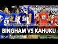 KAHUKU VS BINGHAM UTAH TAKES ON HAWAII Polynesian Football Classic SportsRecruits Highlights mp3