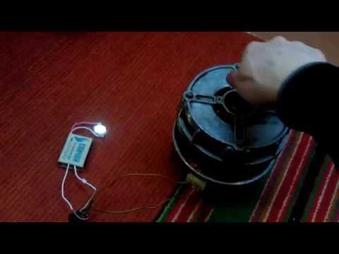 Ветрогенератор своими руками из стиральной машины