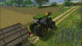 Farming Simulator 2013 Trebbiatura colza con New Holland Cr9090 Big Polish Farm