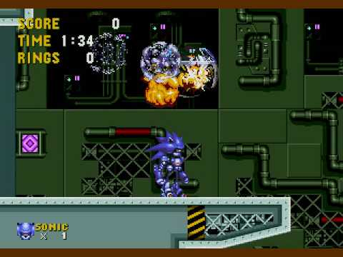 Sonic The Hedgehog 2 Metal Sonic Hack