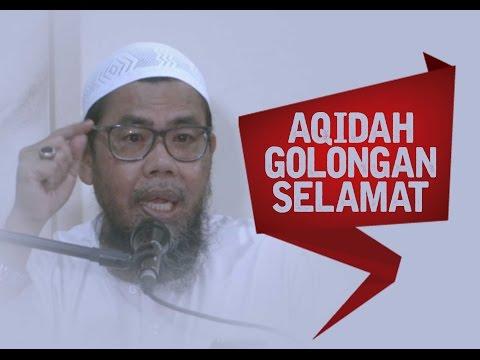 Aqidah Golongan Selamat - Ust Zainal Abidin.Lc - Pertemuan 1