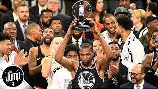 The NBA proved it has the best All-Star game - Rachel Nichols l The Jump
