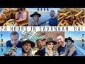 24 Hours in Savannah, Georgia!   Best Local Sliders & Rooftop Bar!