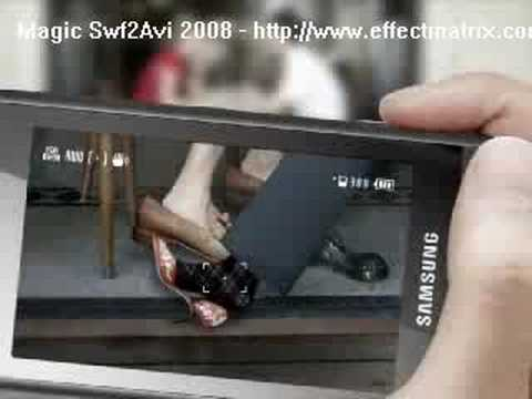 Samsung M8800 Innov8 Touch Promo Video