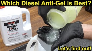 Which Diesel Anti-Gel Additive is Best? Let's find out!