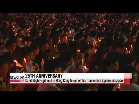 China silences 25th Tiananmen anniversary, remembered in Hong Kong