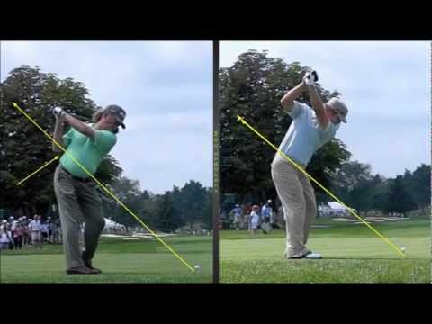 Miguel Jimenez , Ryan Moore , Golf Swing Analysis ...pure talent !!!