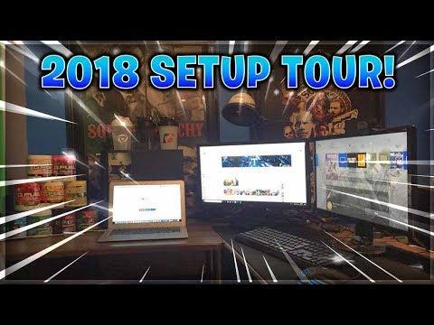 MY 2018 ULTIMATE GAMING SETUP TOUR! ($5,000 SETUP!)