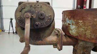 Rare Tool Restoration.  Antique British Alcosa Blacksmiths Forge.