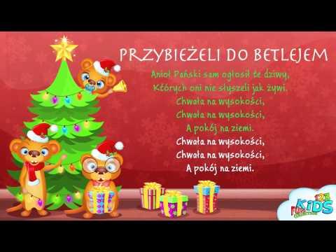 Przybieżeli Do Betlejem - Polskie Kolędy + Tekst (karaoke)