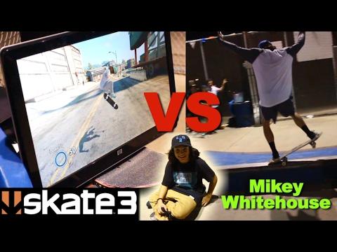 SKATER VS SKATE 3 Ledge