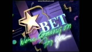 BET Black Entertainment Television We're coming on for you Bumper (1987-1989)