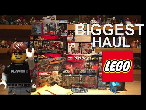 My Biggest LEGO and Toy HAUL Winter 2016!! Ninjago, Marvel, Christmas and more!!