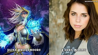 Hearthstone Characters And Voice Actors