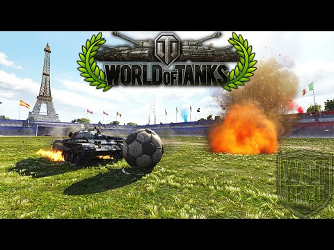 World of Tanks - Football/Soccer - T-62A Sport - Event [Replay HD]