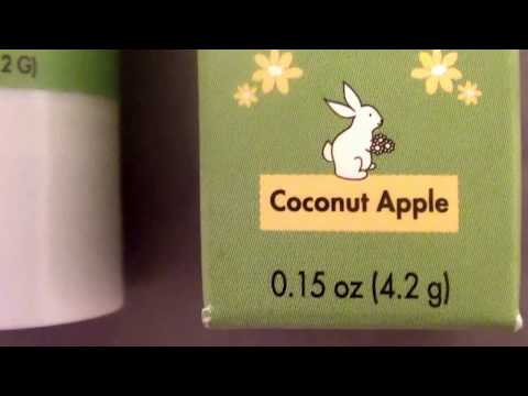 Babo Botanicals Nutri-Smooth Lip Treatment SPF 15 Coconut Apple REVIEW-